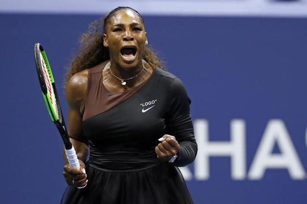 Serena Williams, semifinalista tras no haber podido competir en 2017 para estrenar maternidad FOTO: AP