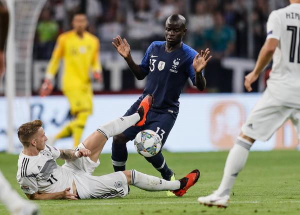 Kết quả Đức 0-0 Pháp: Tín hiệu hồi sinh