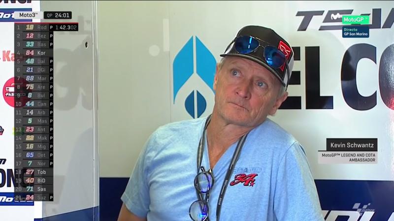 Kevin Schwantz, campeón del mundo de MotoGP en 1993.