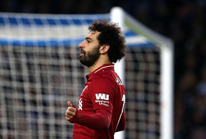 Salah ya ha anotado 3 goles de penalti en esta Premier League. La pasada solo marcó desde los 11 metros en una ocasión