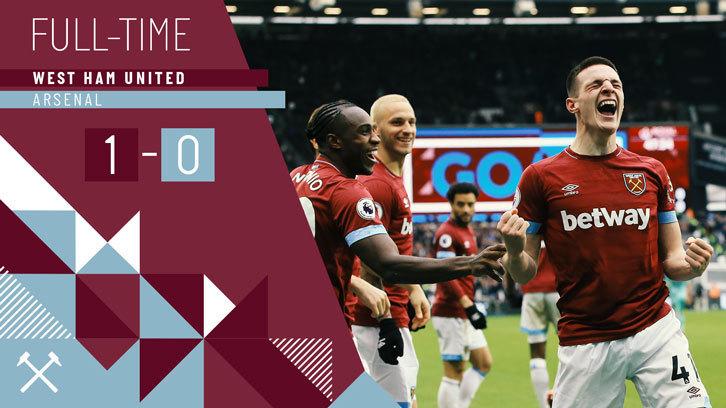 068c79ea09b As it happened  West Ham United 1-0 Arsenal
