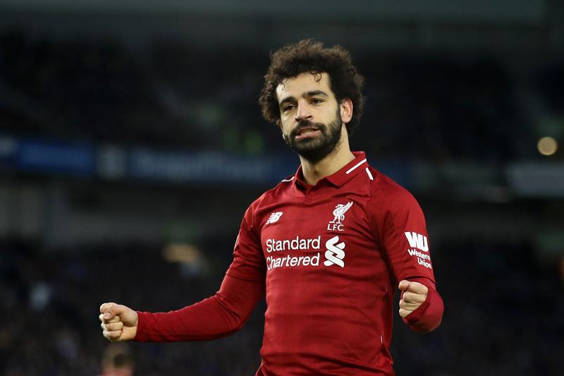 No ha sido el mejor partido de Salah pero sí ha vuelto a ser determinante.