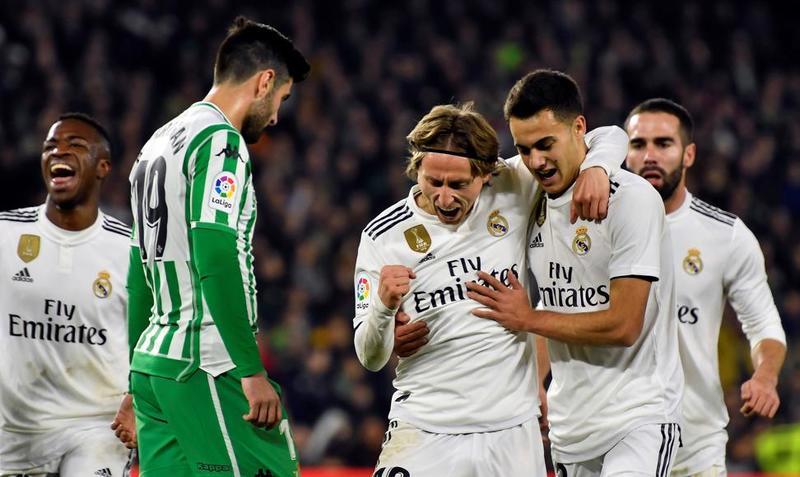Imagen del gol de Modric