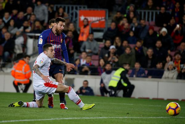 El gol 400 en la Liga de Messi FOTO: PEP MORATA