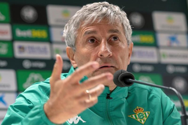 El entrenador del Real Betis