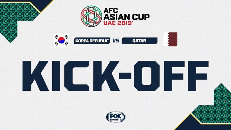 809033de1fb LIVE  AFC Asian Cup 2019 – Korea Republic vs Qatar