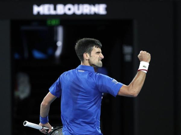 El rey de Melbourne, Novak Djokovic FOTO: AP