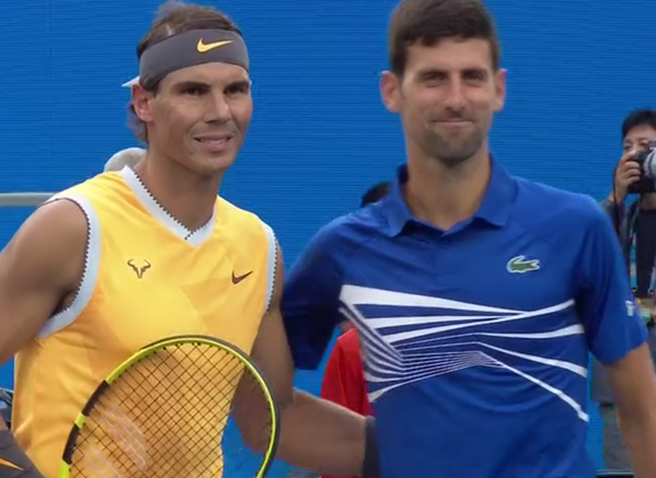 Rafa Nadal y Novak Djokovic, enfrentamiento nº 53. Serie favorable a Nole 27-25.