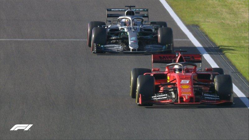 Así están Vettel y Hamilton