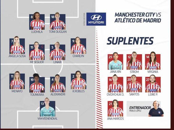 Once del Atlético