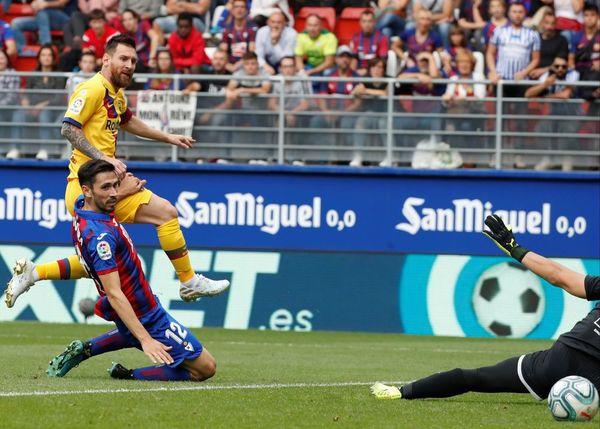 Así ha sido el 0-2 de Messi FOTO: EFE