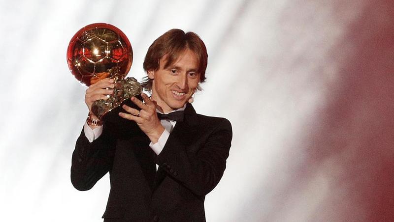Luka Modric, ganador del último Balón de Oro (EFE)
