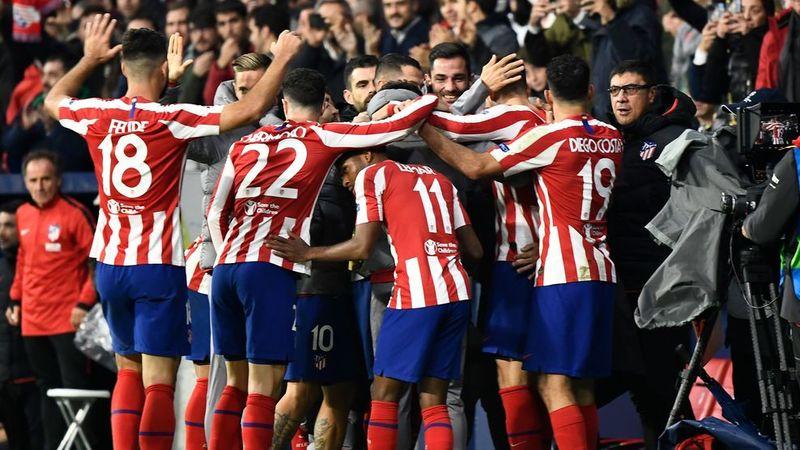 El Atlético lo celebró a lo grande porque estaba sufriendo mucho. (FOTO: Agencias)