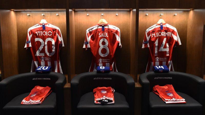 El Atlético jugará con su tradicional indumentaria. (FOTO: @ChampionsLeague)