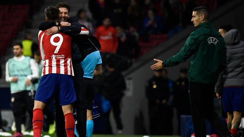 Gol con dedicatoria. (FOTO: Agencias)