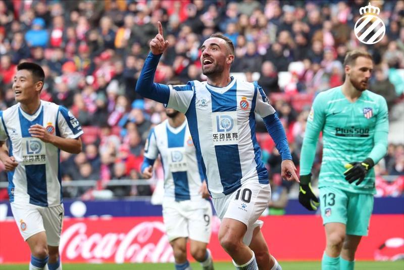 El golazo de Darder de momento no es suficiente para el Espanyol. Pero qué golazo...
