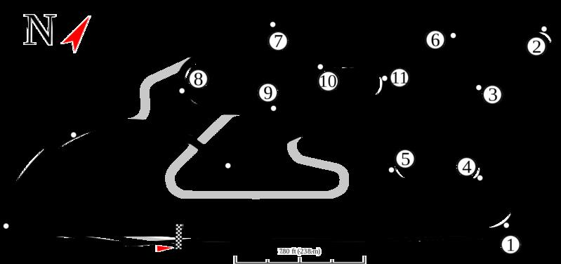 Así es el Circuit Ricardo Tormo, la casa del GP de Valencia. Un circuito en el que se corre en el sentido contrario de las agujas del reloj.