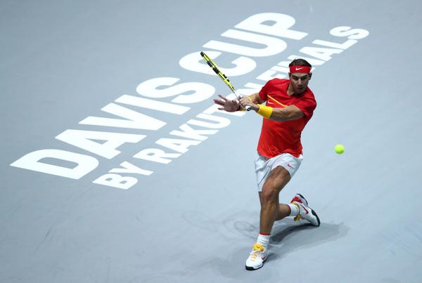 Nadal, en su debut en la nueva Copa Davis