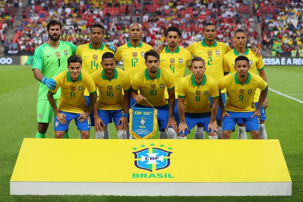 El once de Brasil FOTO: GETTY
