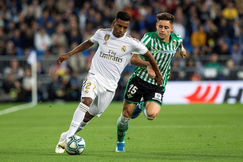 Imagen del Real Madrid - Real Betis
