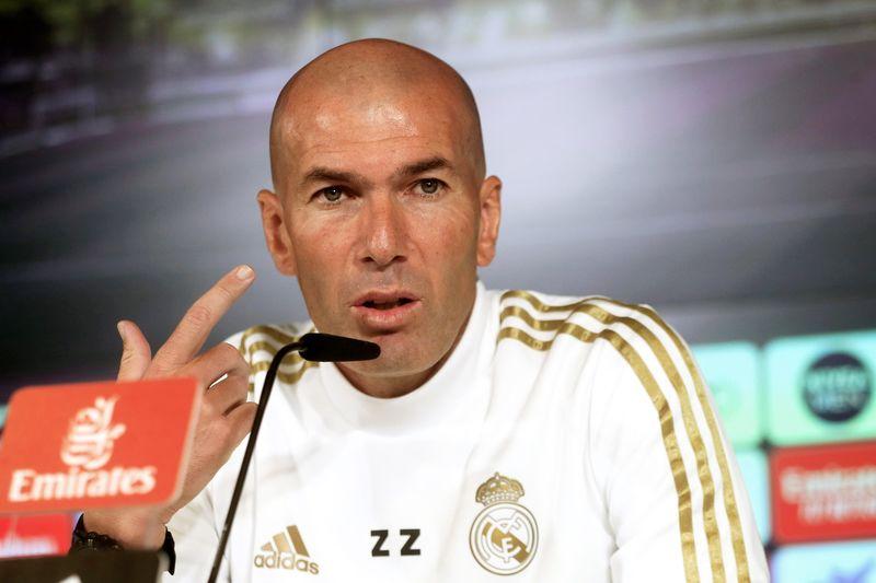 Zidane en la rueda de prensa previa al partido frente al Betis