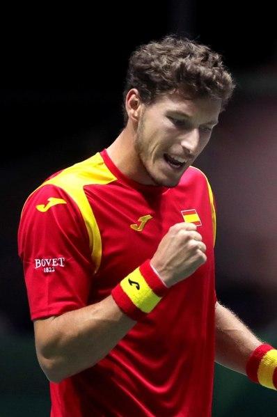 Pablo Carreño encarrila la victoria en el primer partido de la eliminatoria