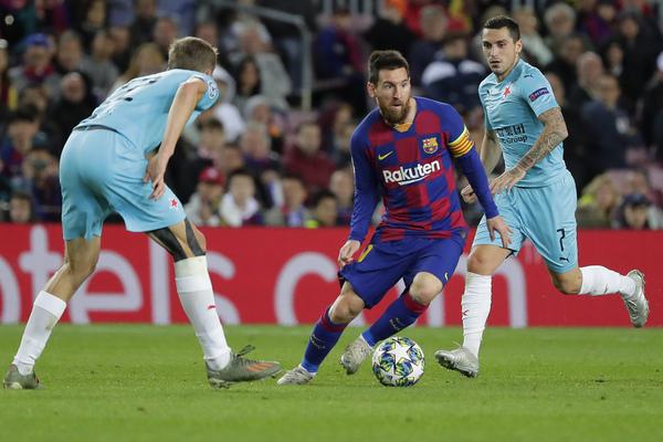 Messi lo ha intentado todo pero esta vez no ha visto puerta FOTO: AP