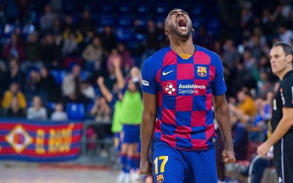 Arthur celebra su gol FOTO: FCB