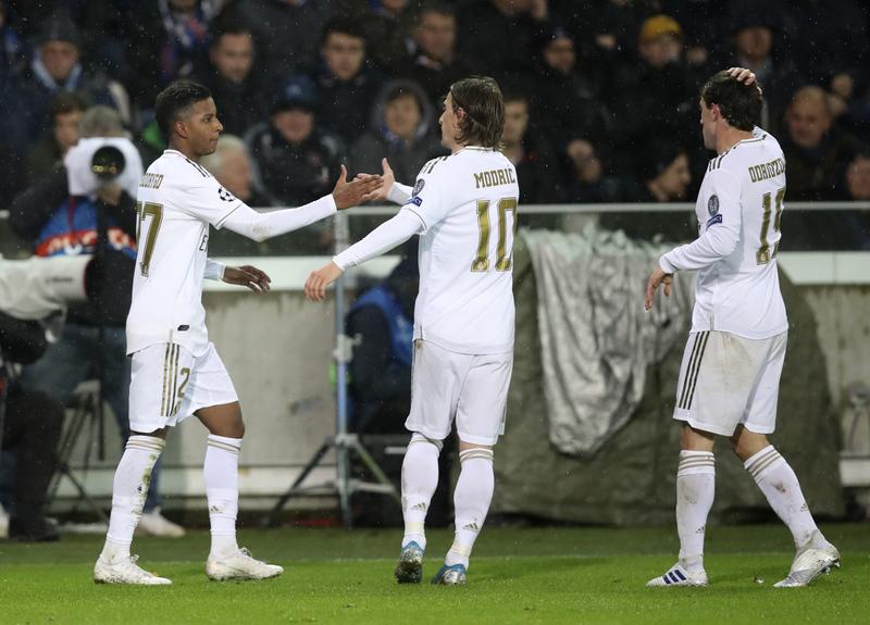 Imagen del Brujas - Real Madrid