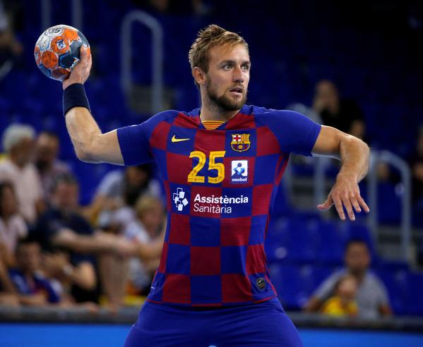 Luka Cindric, central del Barça