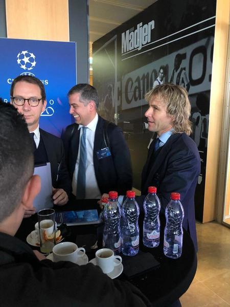 Pavel Nedved, vicepresidente de la Juventus. (Foto: Sergi Solé)