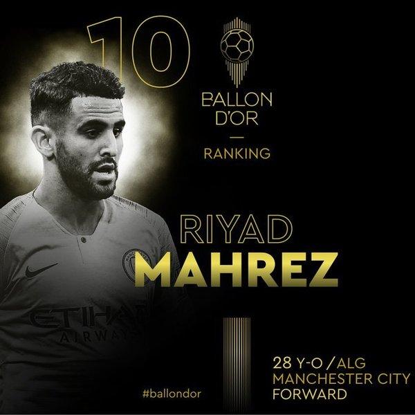 Mahrez, 10º