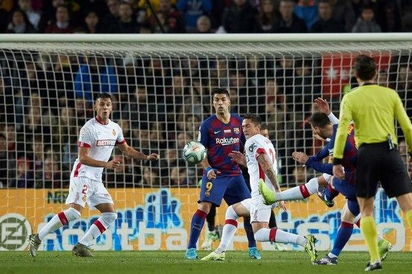 El 2-0 de Messi FOTO: EFE