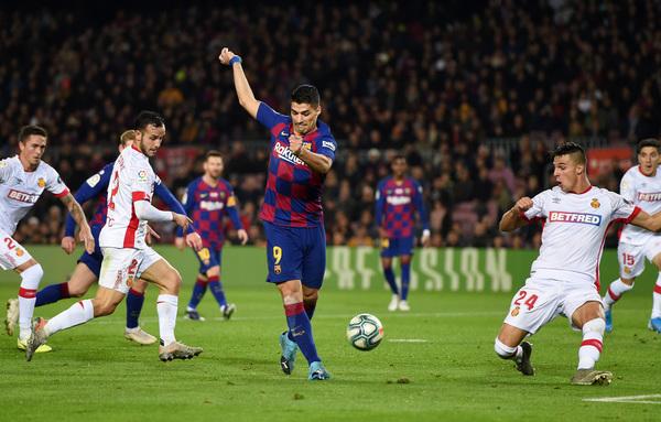 El gran gol de Suárez con el tacón FOTO: GETTY