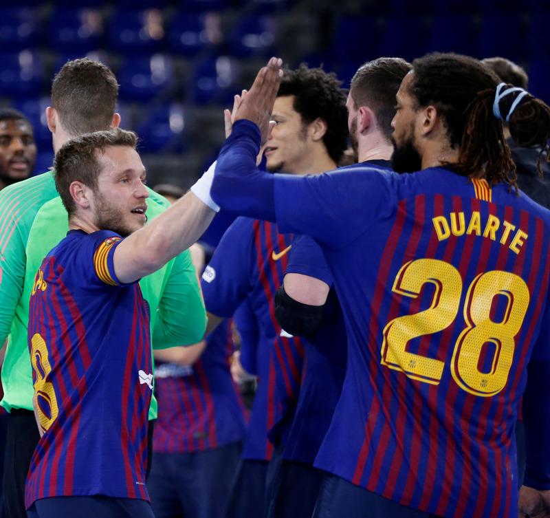 El Barça es el destacado líder de la Liga ASOBAL