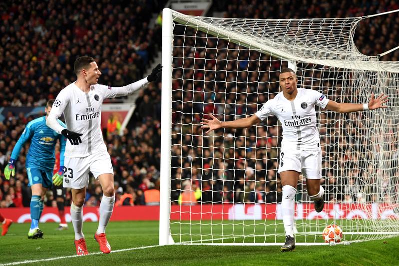 Mbappé ha jugado 9 partidos de eliminatorias de Champions y ha marcado 7 goles. De locos.<br>