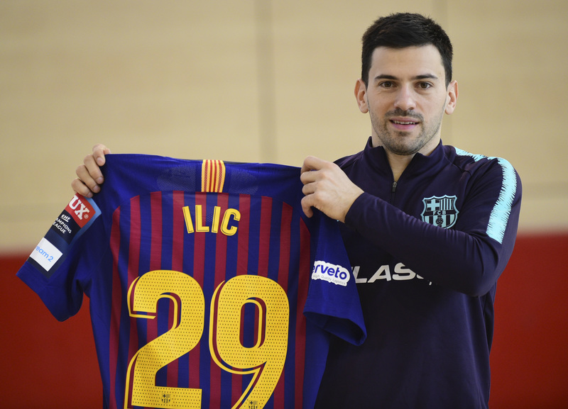 Nemanja Ilic ha marcado sus primeros goles como azulgrana