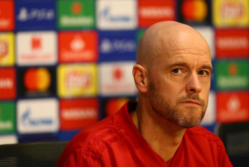 Ten Hag, entrenador del Ajax en la previa del partido de esta noche