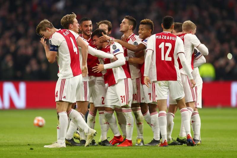 Imagen del Ajax - Real Madrid de Champions League