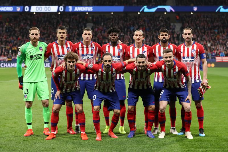 Este es el equipo titular del Atlético