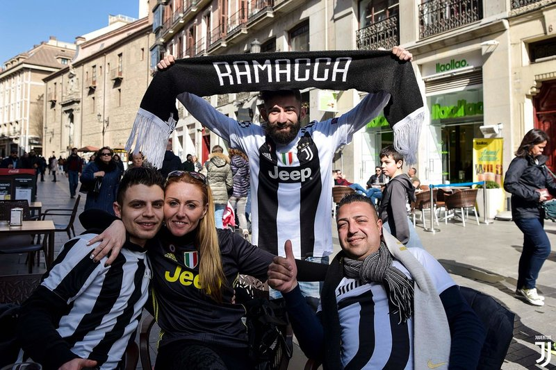 La Juventus no estará sola en el Metropolitano