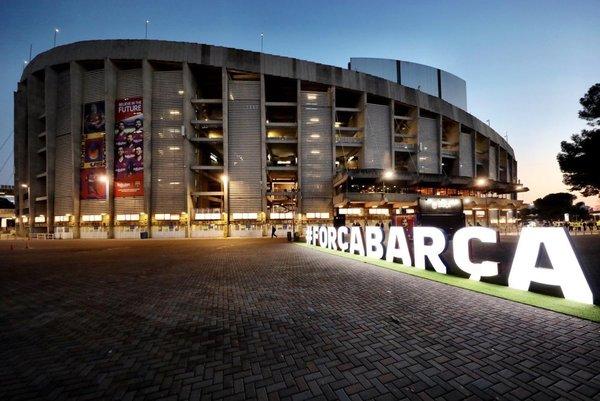 Así luce el Camp Nou a dos horas de que dé inicio el Clásico FOTO: FCB