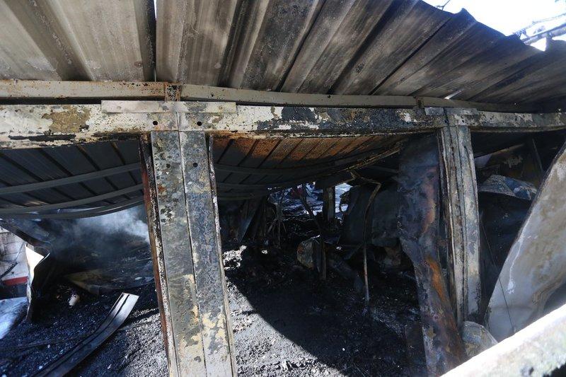 Llegan más imágenes sobre el estado en el que ha quedado la Ciudad Deportiva del Flamengo tras el incendio