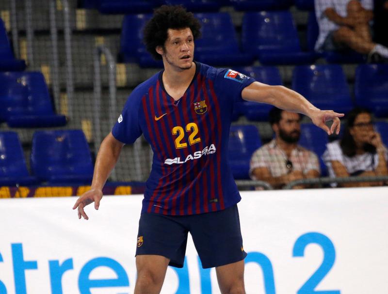 Thiagus Petrus, el eje defensivo del Barça