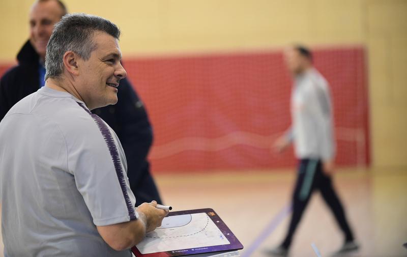 Xavi Pascual, entrenador del Barça