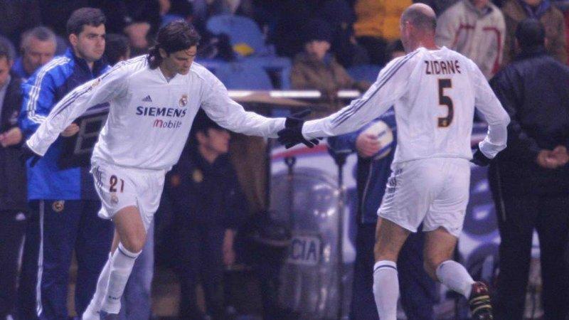 Ambos coincidieron en el Madrid en su etapa de jugadores.