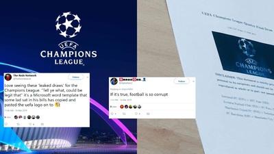 LIVE: UEFA Champions League 2018/19 - Quarterfinal Draw