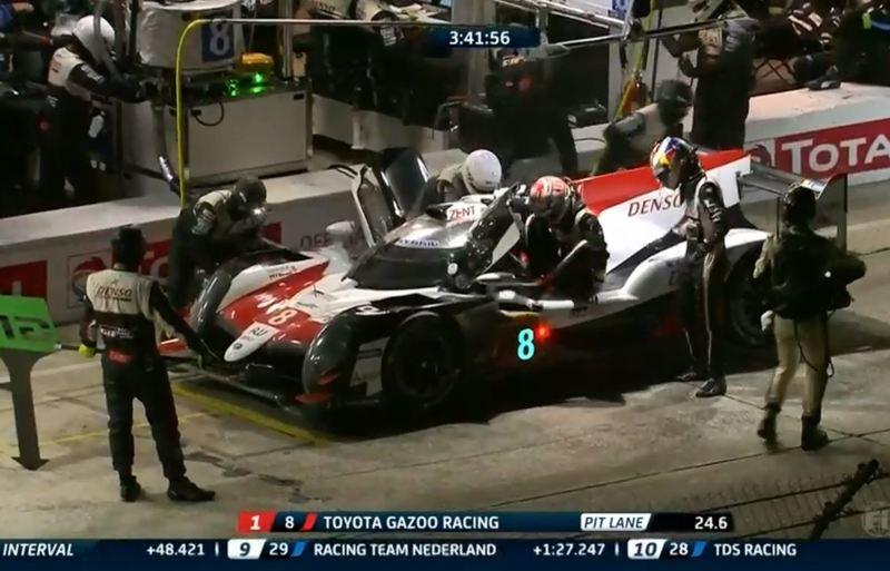 Nakajima deja su sitio en el Toyota #8 a Buemi