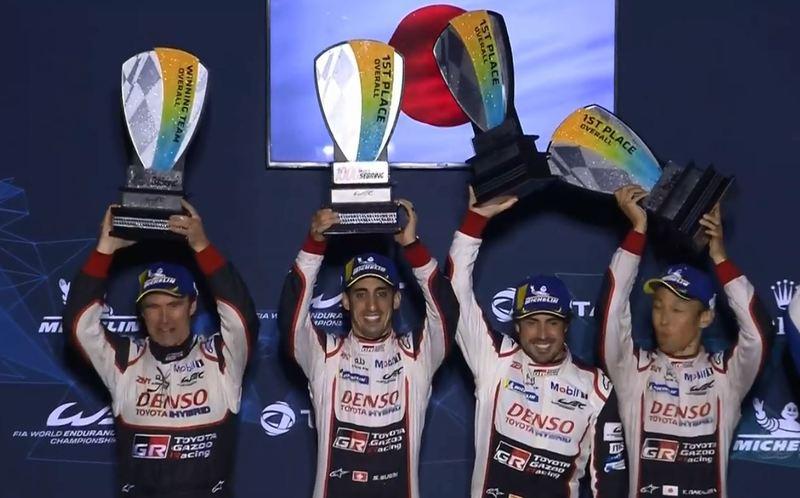 Alonso, Buemi y Nakajima, ganadores de las 1.000 Millas de Sebring