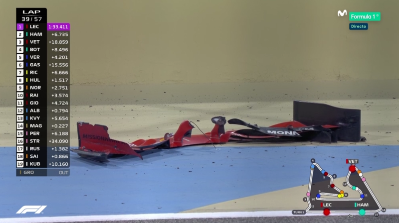 Alerón de Vettel.